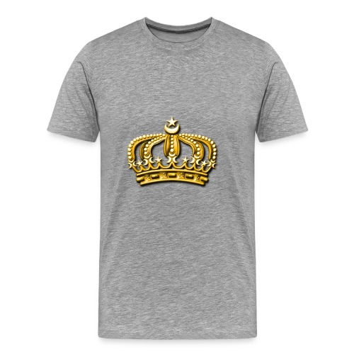 Gold crown - Men's Premium T-Shirt