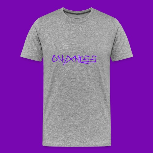 OnyxNess (Purple) - Men's Premium T-Shirt
