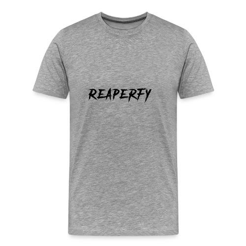 Reaperfy Transparent Logo Black - Men's Premium T-Shirt
