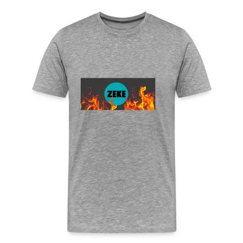 Zeke Logo Shirt - Men's Premium T-Shirt