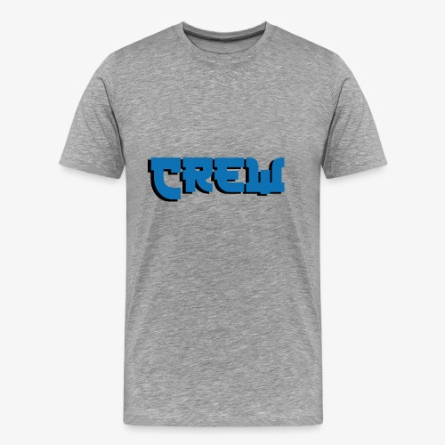 crew blue kamikaze - Men's Premium T-Shirt