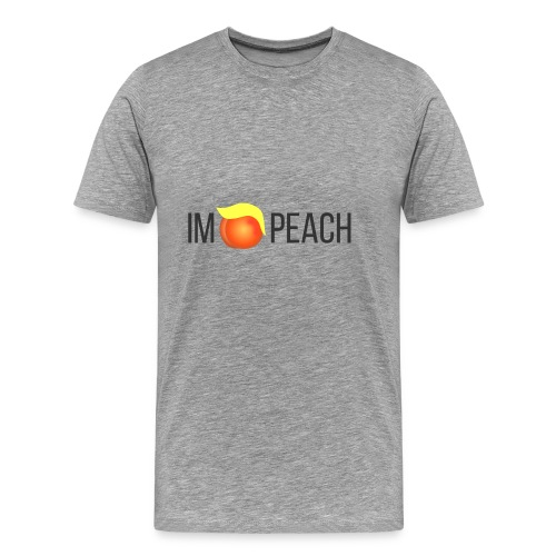 IMPEACH / BLACK - Men's Premium T-Shirt