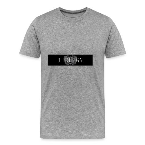 iREIGN Black Design - Men's Premium T-Shirt