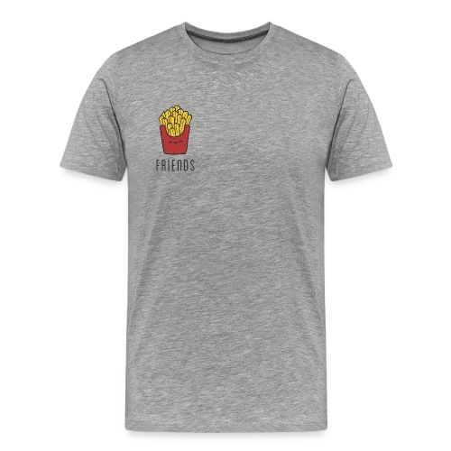 French fries best friends - Men's Premium T-Shirt