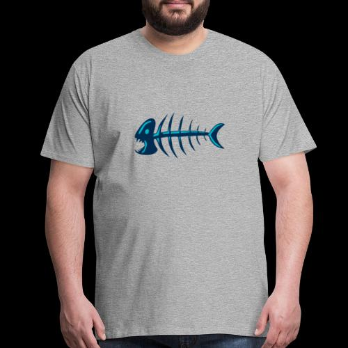 Piranha Fishbones - Men's Premium T-Shirt