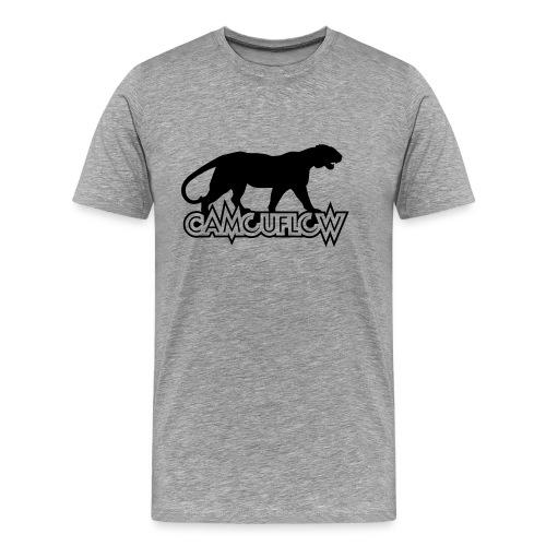 Camouflow Panther Logo - Men's Premium T-Shirt