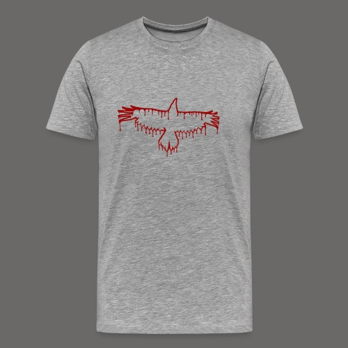 Bloody Crow Logo Solo - Men's Premium T-Shirt