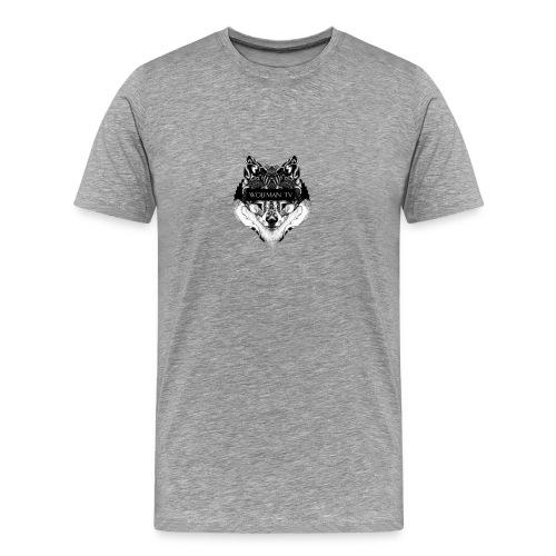 Alpha Wolf - Men's Premium T-Shirt