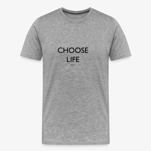 Rockos Co CHOOSE LIFE - Men's Premium T-Shirt