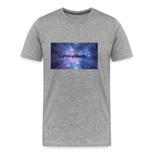 Flippin Gymnast - Men's Premium T-Shirt