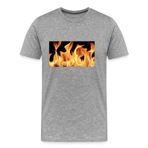 Flamin Ground - Men's Premium T-Shirt