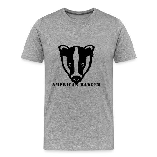 American Badger - Men's Premium T-Shirt