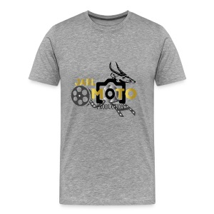 jarl moto logo 2 - Men's Premium T-Shirt