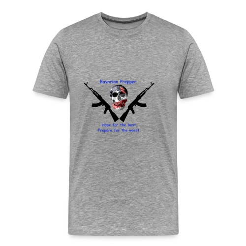 Flag Skull - Men's Premium T-Shirt