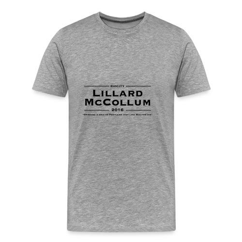 Lillard McCollum - Men's Premium T-Shirt