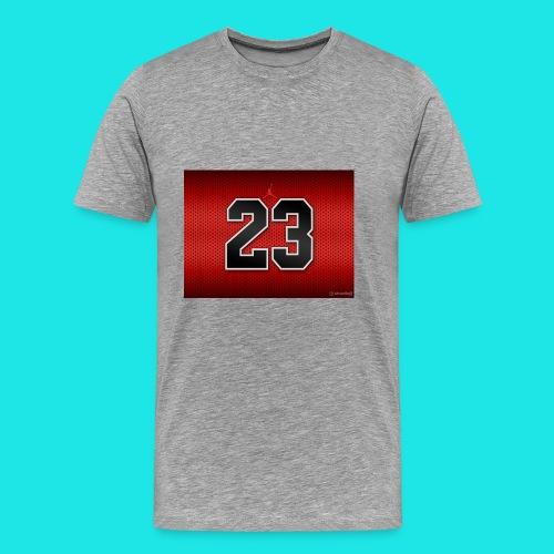 Jordan_Bulls_Jersey - Men's Premium T-Shirt
