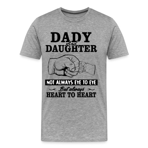 Dady and Daughter - Men's Premium T-Shirt