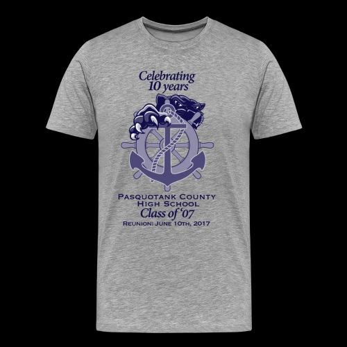 PCHS Class of '07 Reunion 2017 - Men's Premium T-Shirt
