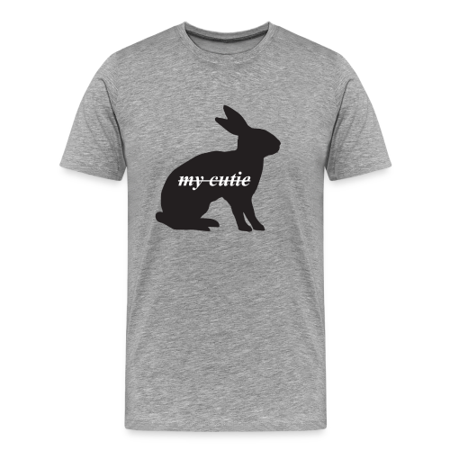Cute bunny present - Men's Premium T-Shirt