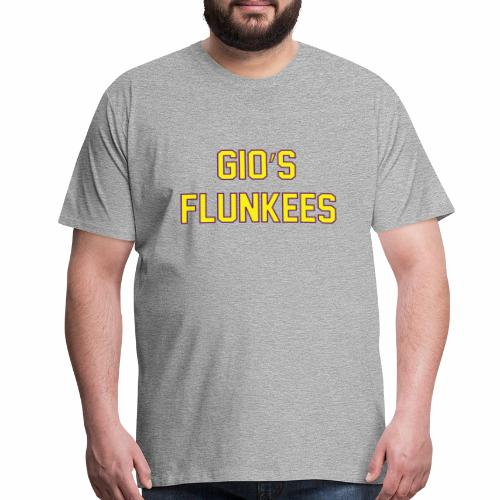 Gio's Flunkees - Men's Premium T-Shirt
