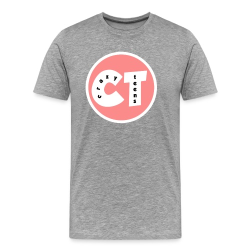Crazy Teens Logo - Men's Premium T-Shirt