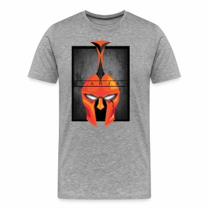Robotic Spartan - Men's Premium T-Shirt