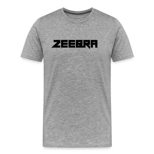 zeebra logo - Men's Premium T-Shirt