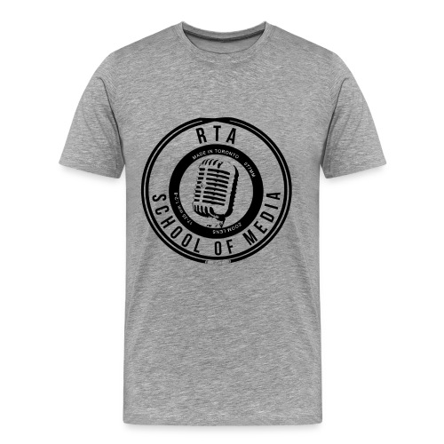 RTA School of Media Classic Look - Men's Premium T-Shirt