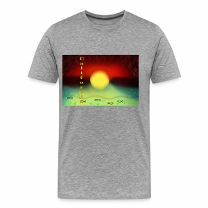 Sunset By Sea, California Product - Men's Premium T-Shirt