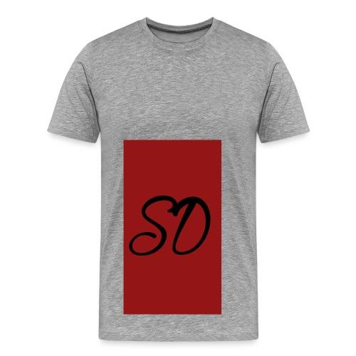red sd - Men's Premium T-Shirt