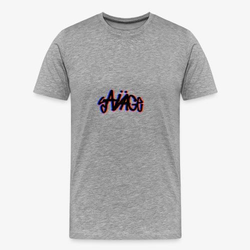 Savage Multicolor - Men's Premium T-Shirt