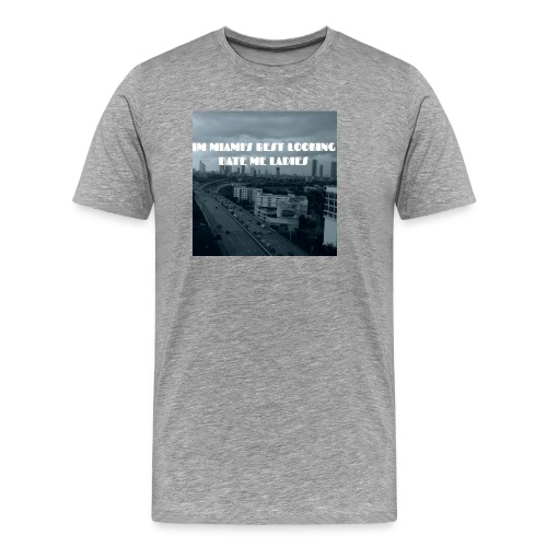 MIAMI'S BEST LOOKING - Men's Premium T-Shirt