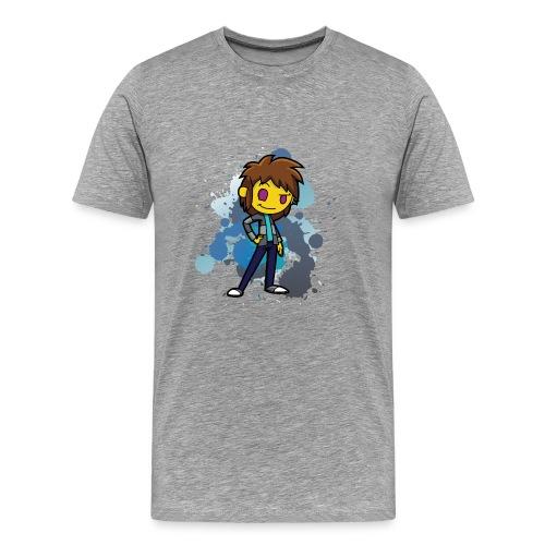 Darkar Paint Blue - Men's Premium T-Shirt
