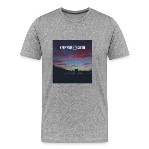 Clean - Men's Premium T-Shirt