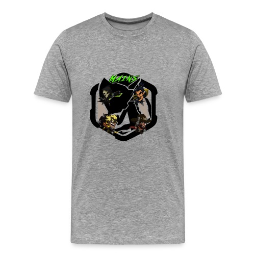 Acidtheinsane's Overwatch Mains - Men's Premium T-Shirt