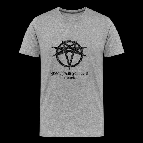Black Death Cannabis - Logo - Men's Premium T-Shirt