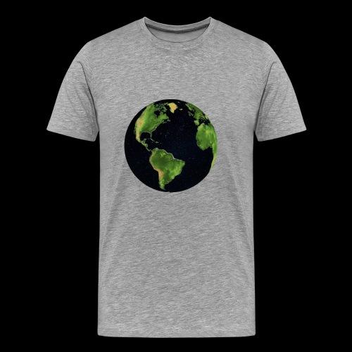Galactic Earth - Men's Premium T-Shirt
