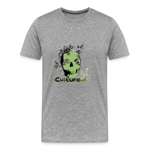Culture_Creative_Skull - Men's Premium T-Shirt
