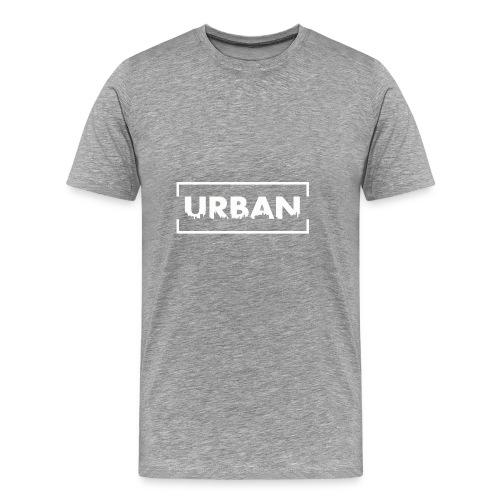 Urban City Wht - Men's Premium T-Shirt