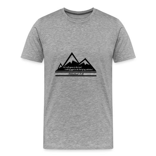 Habakkuk 3:18 - Men's Premium T-Shirt