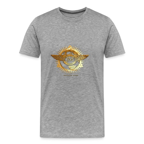 Jerusalem Music Logo - Men's Premium T-Shirt