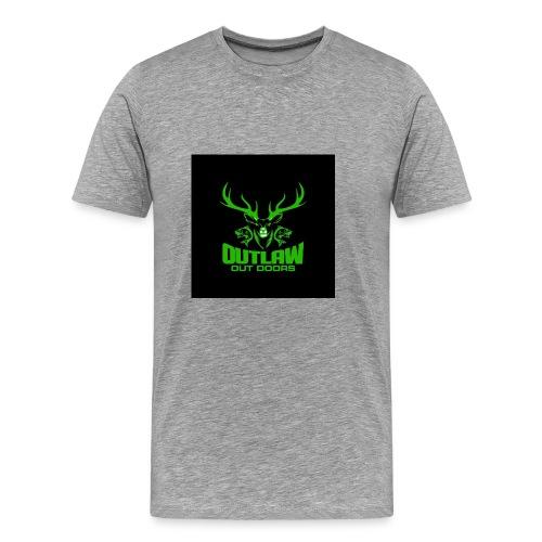 Outlaw Outdoors Logo 2 - Men's Premium T-Shirt