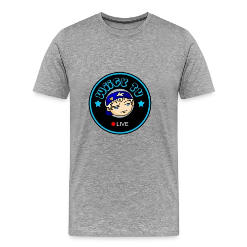 Wiigy Logo - Men's Premium T-Shirt