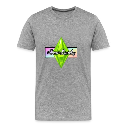 #TeamLovely Rainbow Logo - Men's Premium T-Shirt