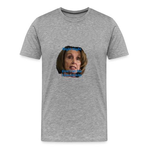 night night don't let the liberals bite - Men's Premium T-Shirt