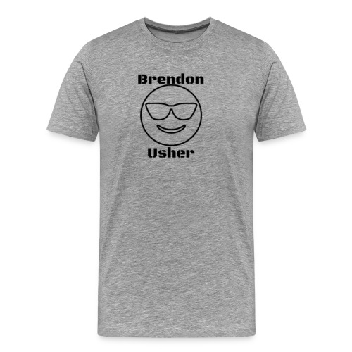 Brendon usher - Men's Premium T-Shirt