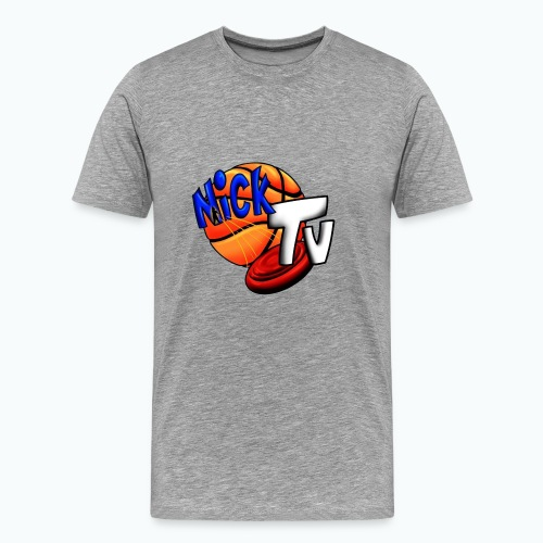 Nick TV Big and Tall - Men's Premium T-Shirt