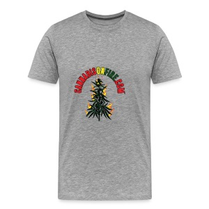 Cannabis On Fire T-Shirt 420 Cannabis Wear 2017 - Men's Premium T-Shirt