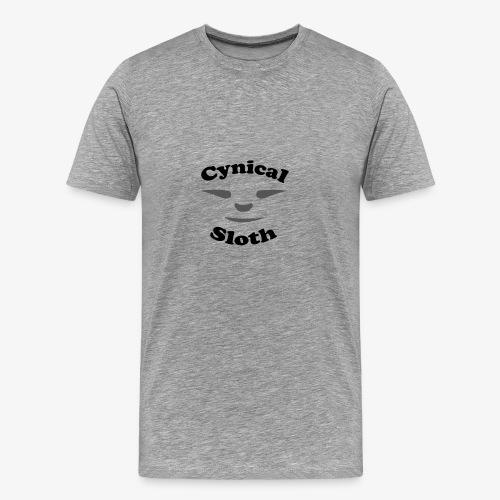Cynical Sloth limited-edition company logo - Men's Premium T-Shirt