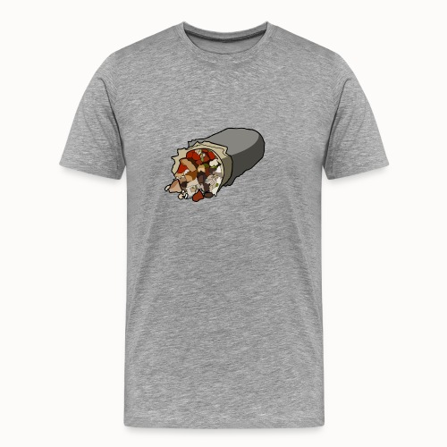 Just Burrito Shirt - Men's Premium T-Shirt